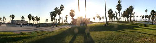Panorama de Venice Beach