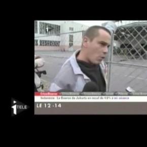 La colère exemplaire d'un travailleur de Renault