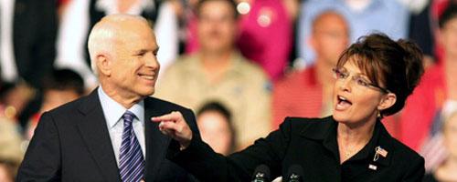 Obama entre dans l'histoire … Sarah Palin aussi !